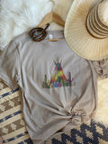 Teepee Sunset Tee