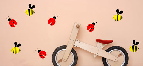 Ladybug and Bee Set-Vinyl Decal