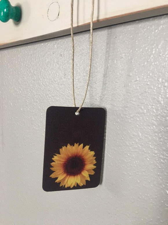 Sunflower Air Freshener - You Pick Scent