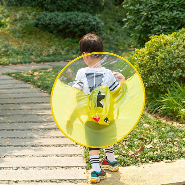 Cute Umbrella like Raincoat for Toddlers