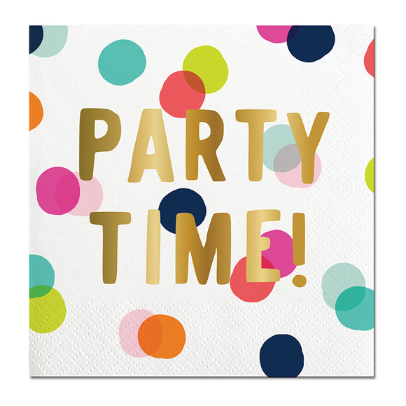 PARTY TIME NAPKIN