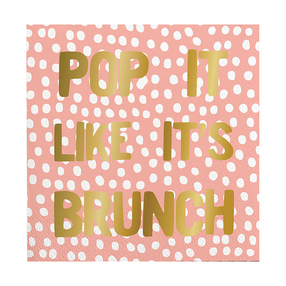 POP IT LIKE BRUNCH NAPKIN