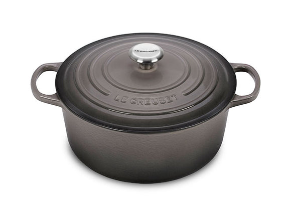 5.5 QT ROUND DUTCH OVEN OYSTER GREY