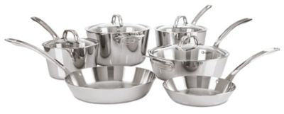 VIKING 10PC COOKWARE SET, CONTEMPORARY