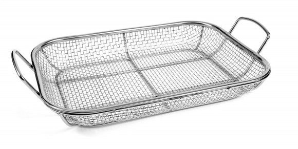 STAINLESS STEEL GRILL ROASTING PAN