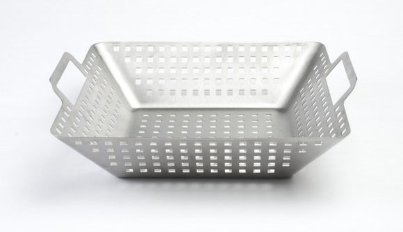 STAINLESS STEEL SQUARE GRILL WOK