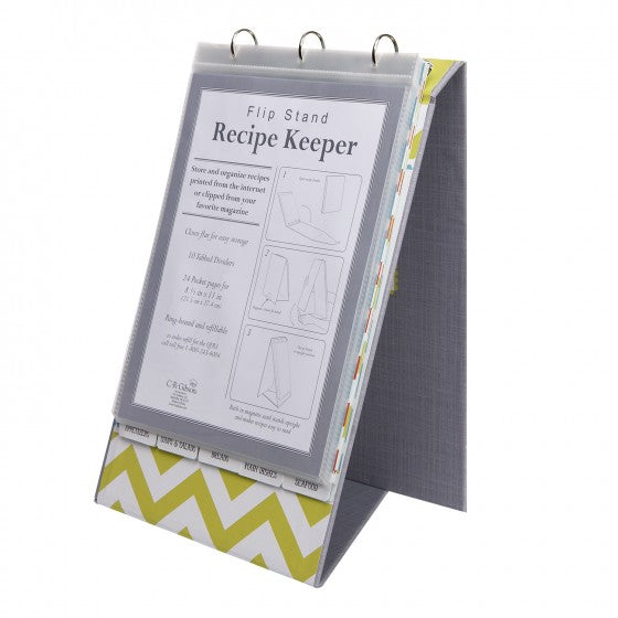 VERTICAL REFILLABLE RECIPE BOOK - MIX IT UP