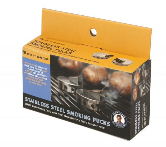 STAINLESS STEEL SMOKE PUCK S/2
