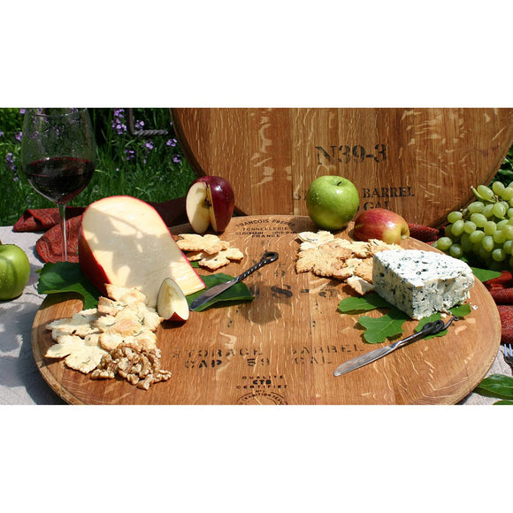 WINE CASK LAZY SUSAN