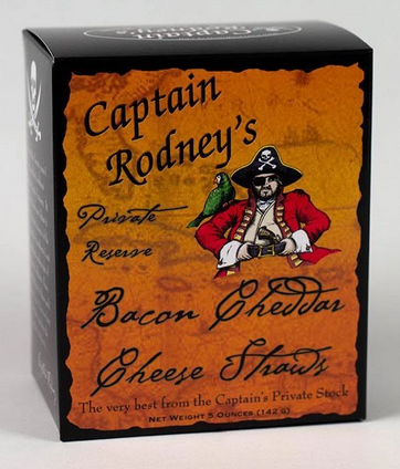 CAPTAIN RODNEY CHEESE STRAWS