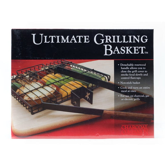 THE ULTIMATE GRILLING BASKET
