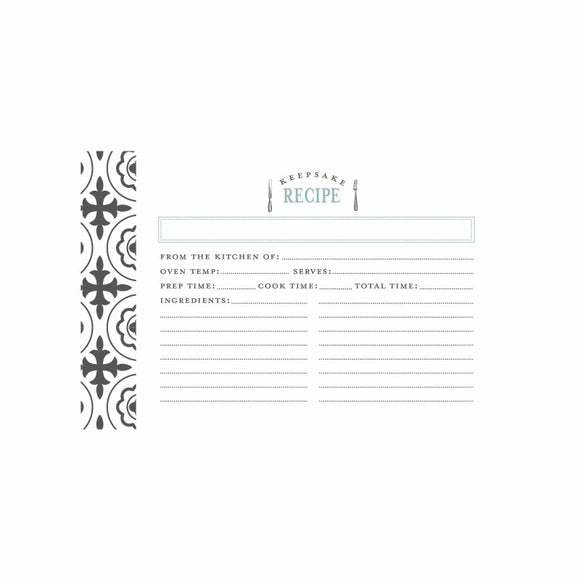 FARMHOUSE RECIPE CARDS