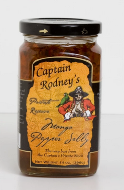 CAPTAIN RODNEY'S MANGO PEPPER JELLY