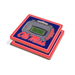 OLE MISS COASTERS