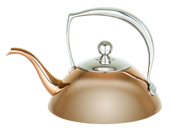 VIKING ROSE GOLD TEA POT
