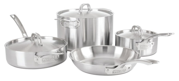 VIKING 7PC COOKWARE SET, 5 PLY