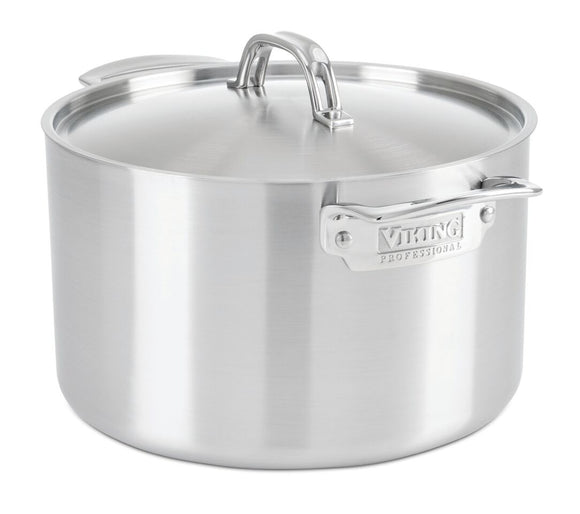VIKING 8 QT STOCK POT, PROFESSIONAL