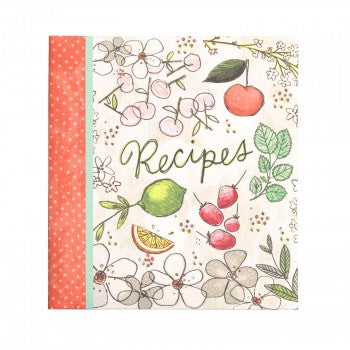 REFILLABLE RECIPE BOOK - FRUIT FUSION