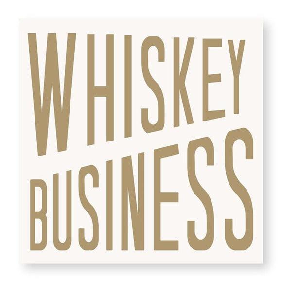 WHISKEY BUISNESS NAPKIN