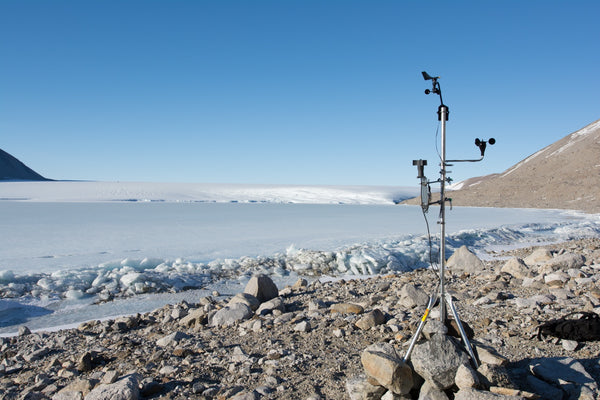 Antarctic expedition with WINDLogger