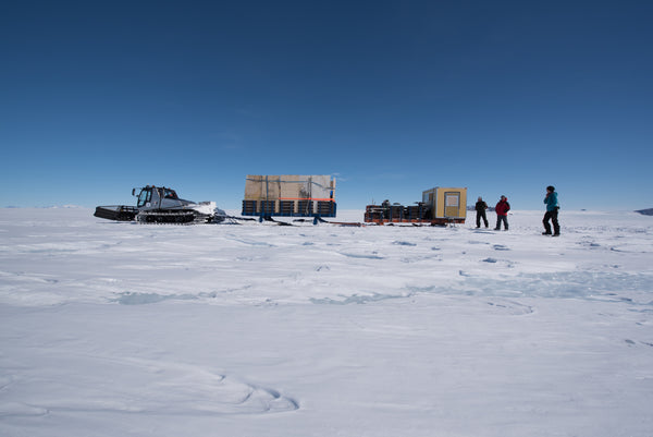 Antarctic expedition microscopic research