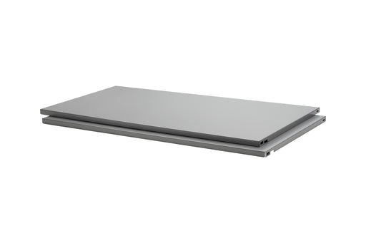 Dolle PrimeSlot Steel Shelf Silver (2-Pack)