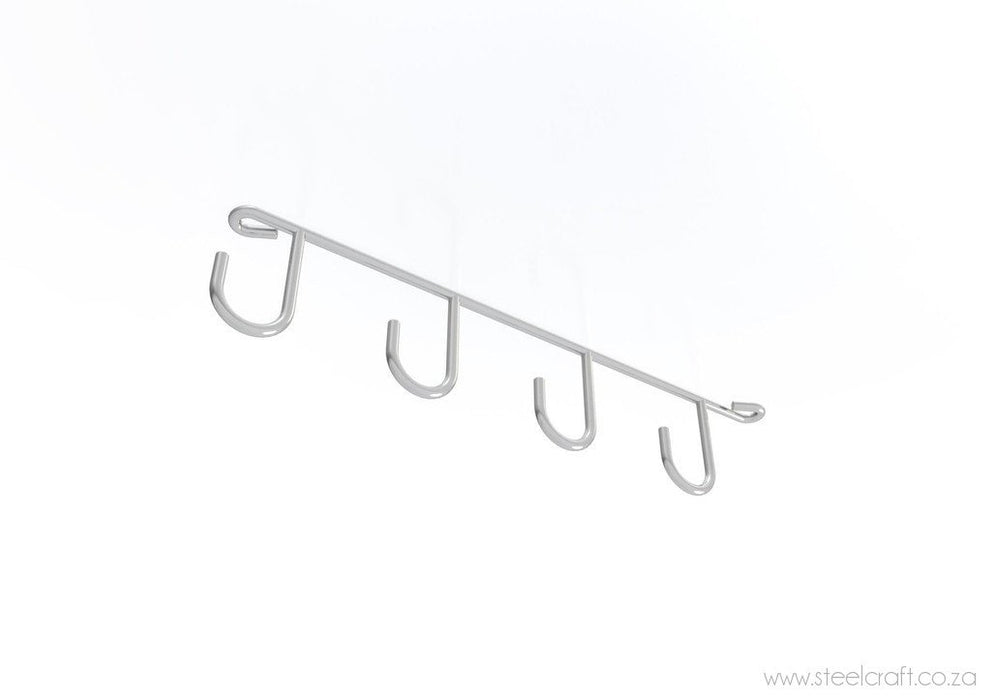 Under Cupboard Hook Rack (pack of 2), Under Cupboard Hook Rack (pack of 2), Kitchen Ware, Steelcraft, steelcraft.co.za , www.steelcraft.co.za