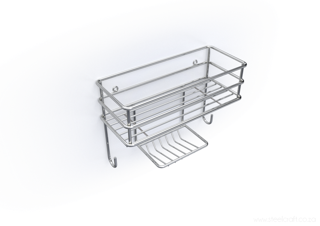 Wall Basket Organiser, Wall Basket Organiser, Bathroom Ware, Steelcraft, steelcraft.co.za , www.steelcraft.co.za
