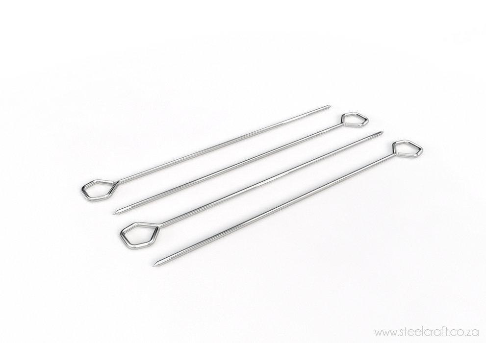 Skewers (pack of 4), Skewers (pack of 4), Kitchen Ware, Steelcraft, steelcraft.co.za , www.steelcraft.co.za