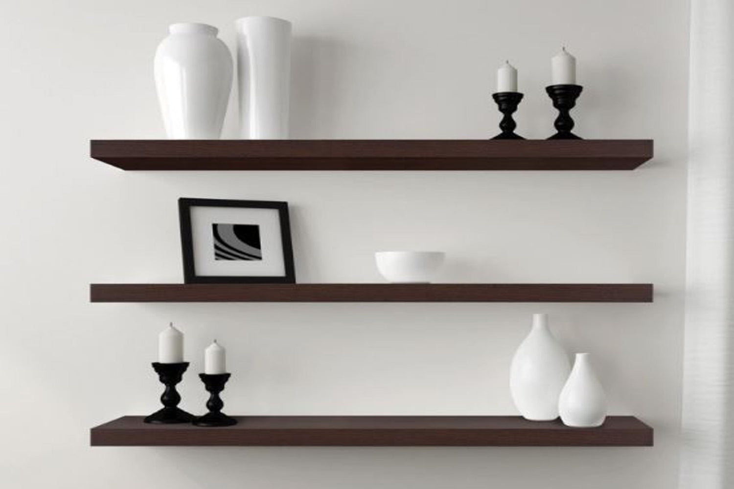 Dolle Big Boy Floating Shelf Mocca