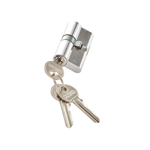 Mackie Security Profile Cylinder Chrome Plated