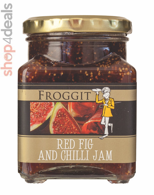 Froggit Foods Jam Red Fig And Chilli