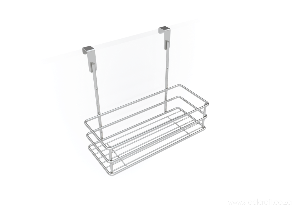 Hook Over Cupboard Door Basket, Hook Over Cupboard Door Basket, Kitchen Ware, Steelcraft, steelcraft.co.za , www.steelcraft.co.za