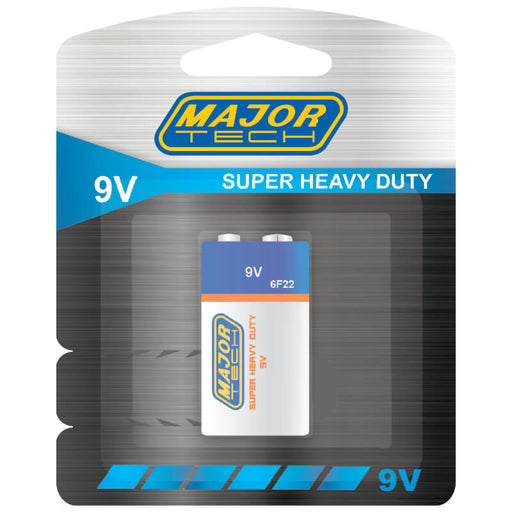 Major Tech 9V Super Heavy Duty Battery