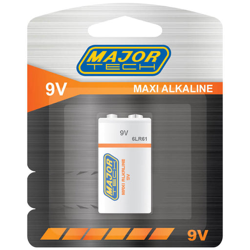 Major Tech 9V Maxi Alkaline Battery