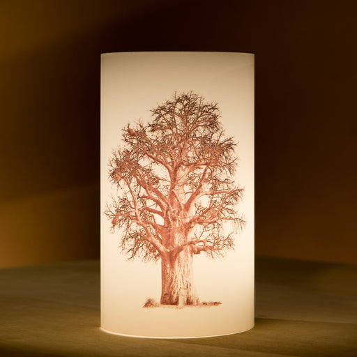 African Fine Art Candle Shade Baobab Tree Baobab Tree 02 140MM