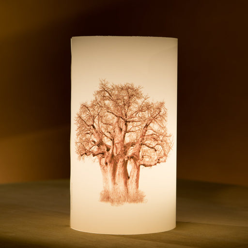 African Fine Art Candle Shade Baobab Tree Baobab Tree 03 140MM