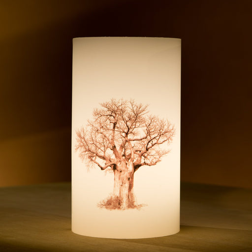 African Fine Art Candle Shade Baobab Tree Baobab Tree 04 140MM