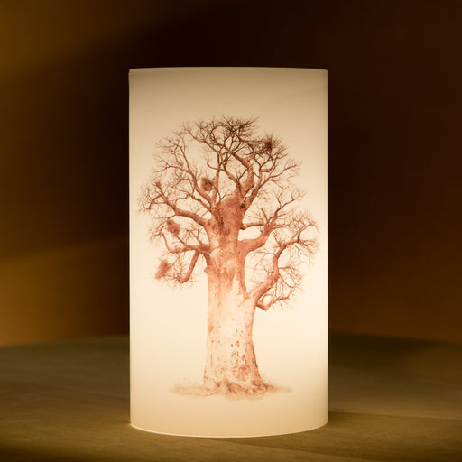 African Fine Art Candle Shade Baobab Tree Baobab Tree 05 140MM