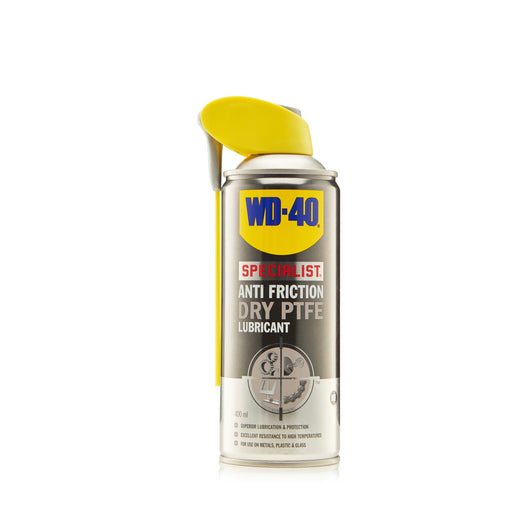 WD-40 Specialist Anti-Friction Dry PTFE Lubricant Spray 400ML
