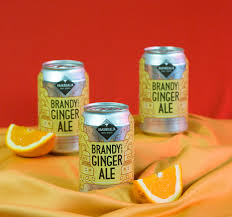 Amandalia Brandy & Ginger Ale 330ml