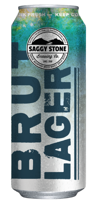Saggy Stone Brut Lager 500ml