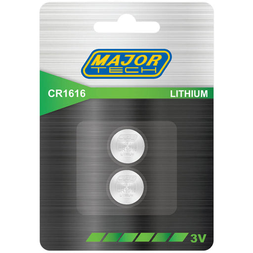 Major Tech Lithium Button Cells CR1616