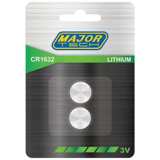 Major Tech Button Cells CR1632