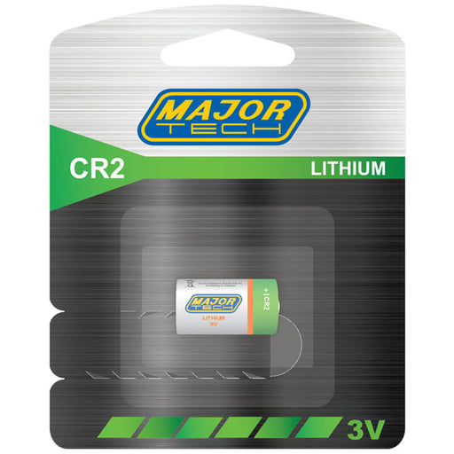 Major Tech CR2 Lithium Battery