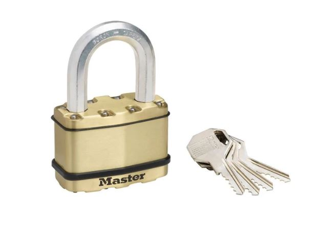 Master Lock Excell Padlock & High Security Chain