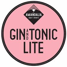 Amandalia Gin & Tonic 330ml