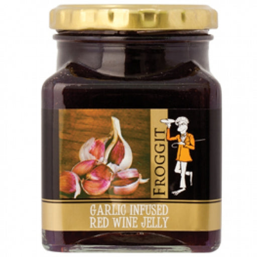 Froggit Foods Jam Garlic Red Wine Jelly