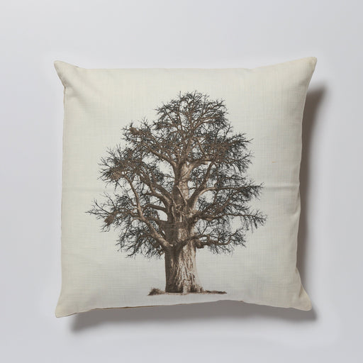 African Fine Art Cushion Cover Baobab Tree 02