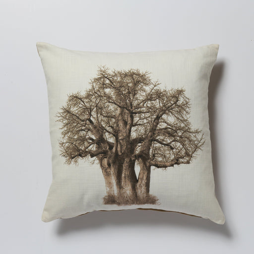 African Fine Art Cushion Cover Baobab Tree 03